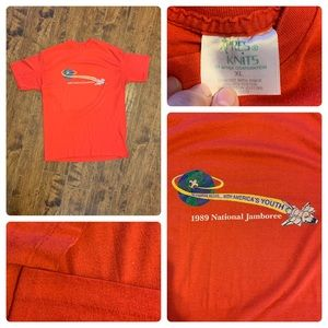 VTG 1989 Boy Scouts Shirt single stitch